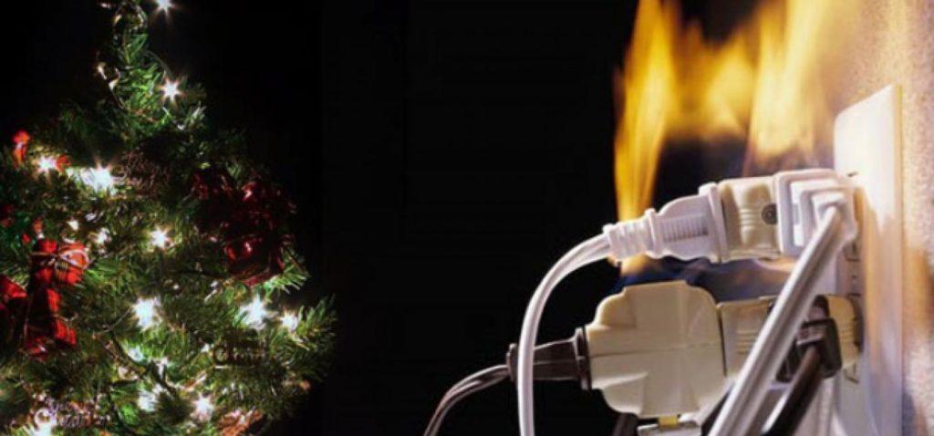 Cómo prevenir un cortocircuito esta navidad