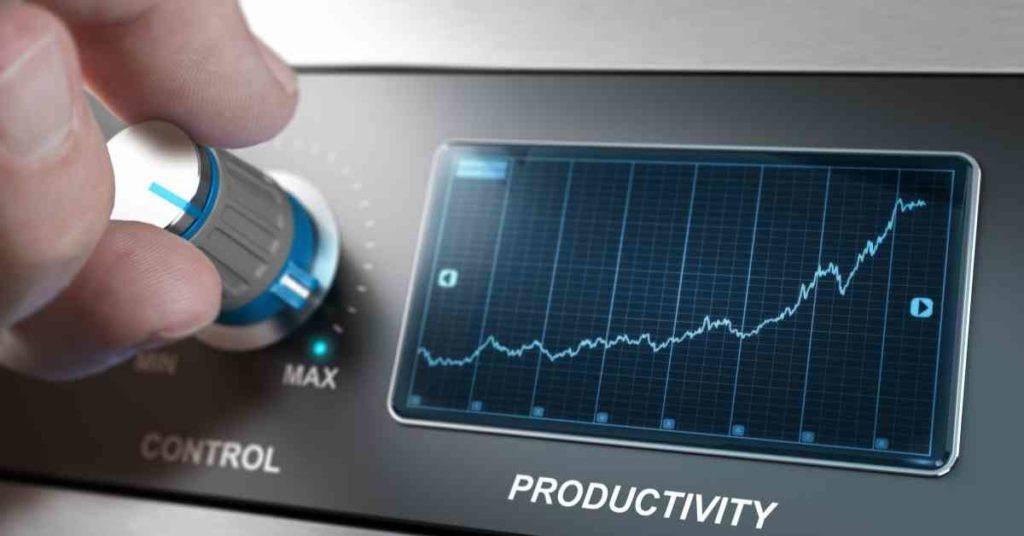 Mayor productividad